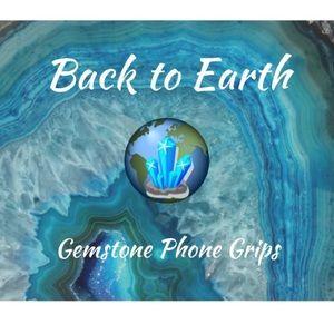 Gemstone Phone Grips